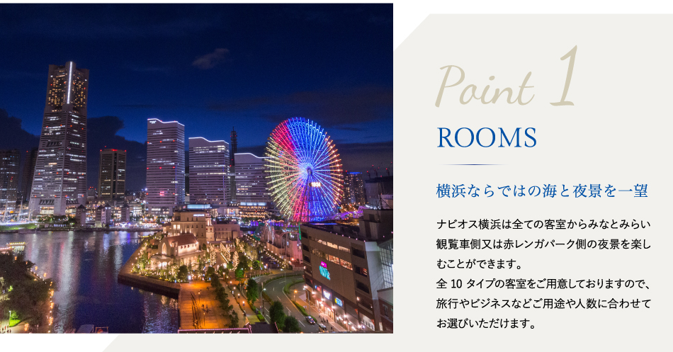 Point 1 ROOMS